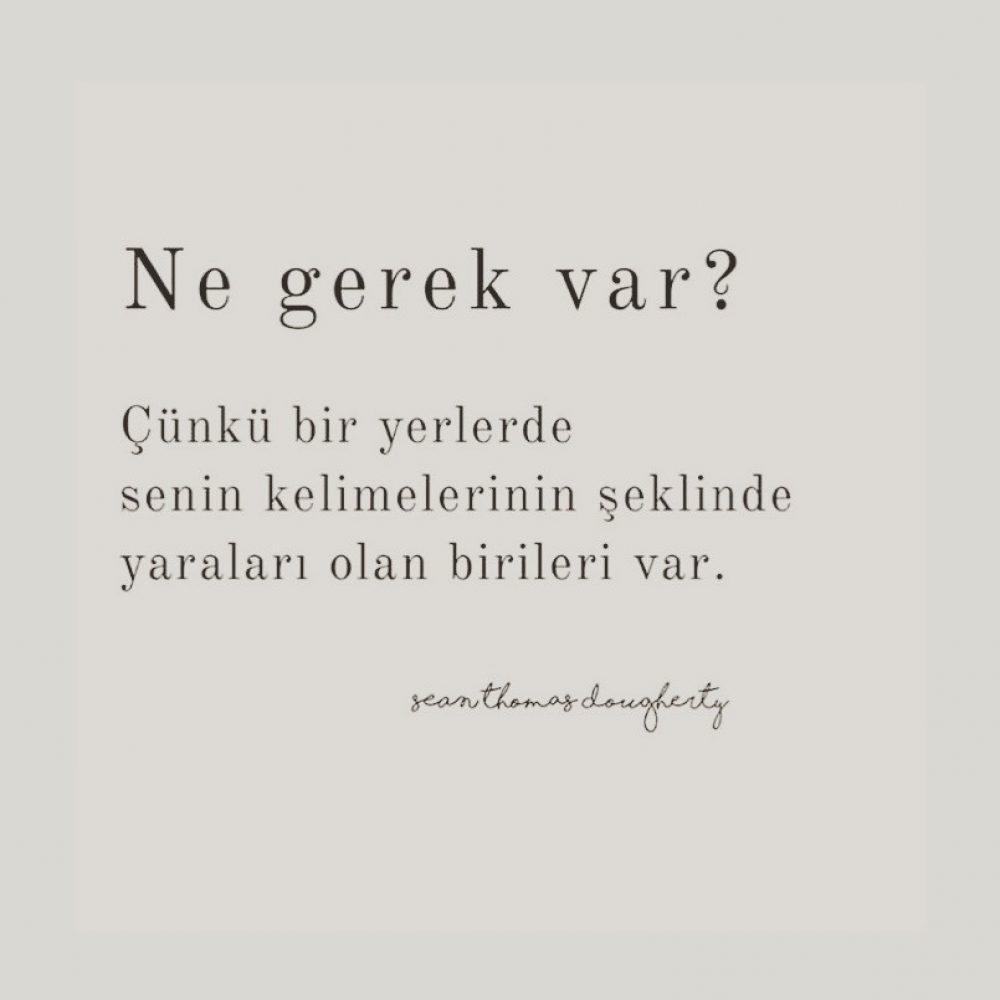 SÖZLERE DİKKAT!